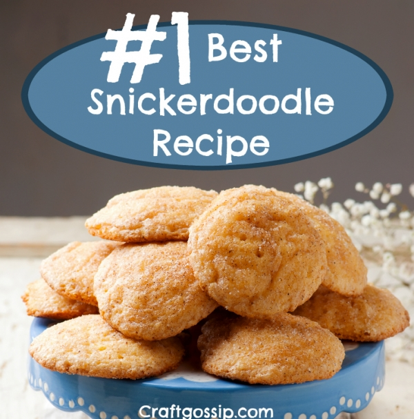 The #1 SnickerDoodle Recipe