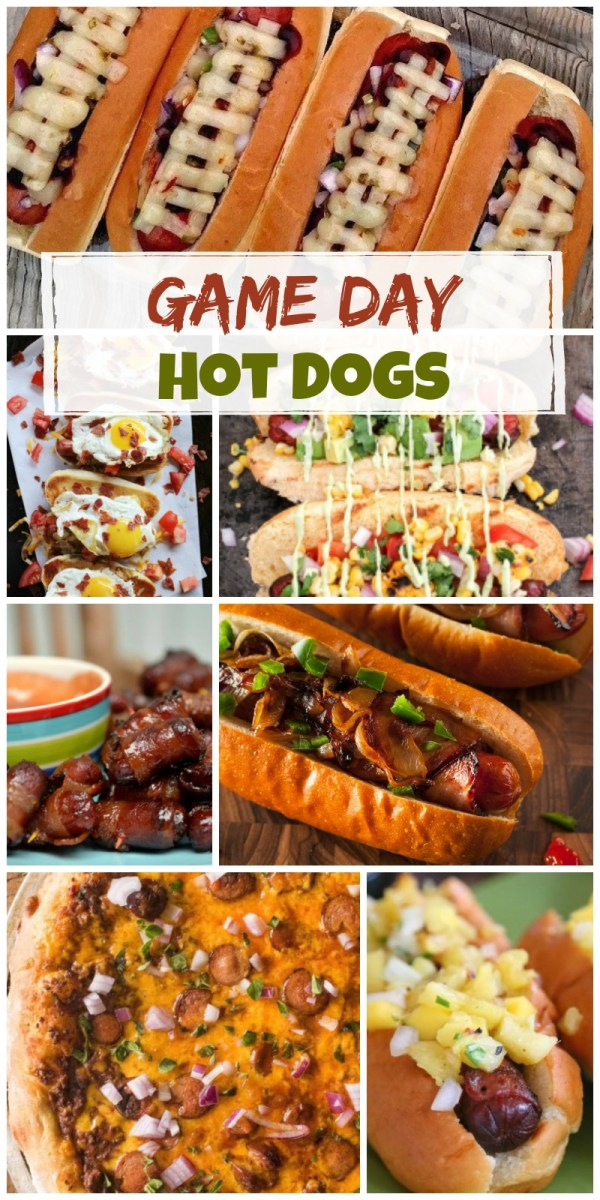 Perfect Game Day Hot Dogs
