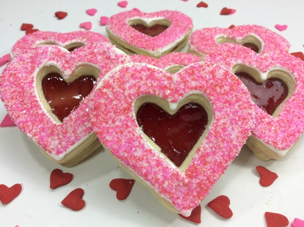 Strawberry Kisses – Easy Valentine's Day Cookies
