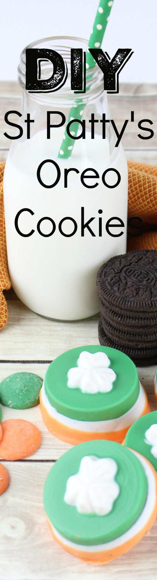 St Patrick's Day Oreo Cookies