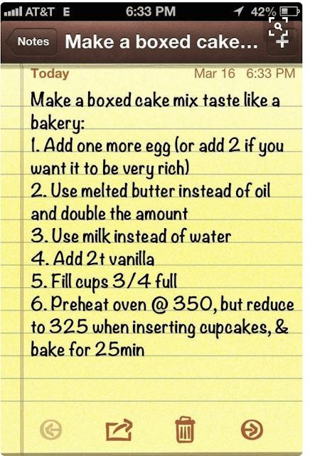 Make A Boxed Cake Taste Like A Bakery Cake | Pinterest Test