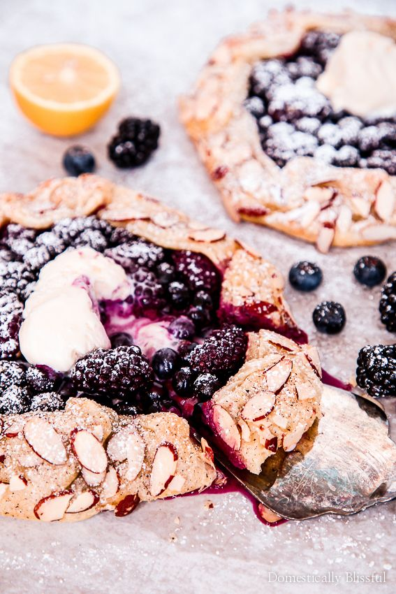 Blueberry Blackberry Galette