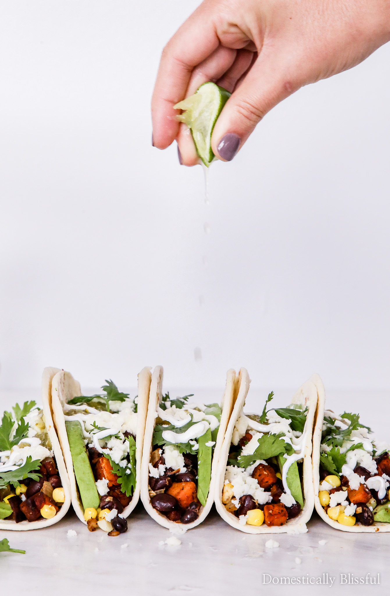 Taco Tuesday – Black Bean Sweet Potato Tacos