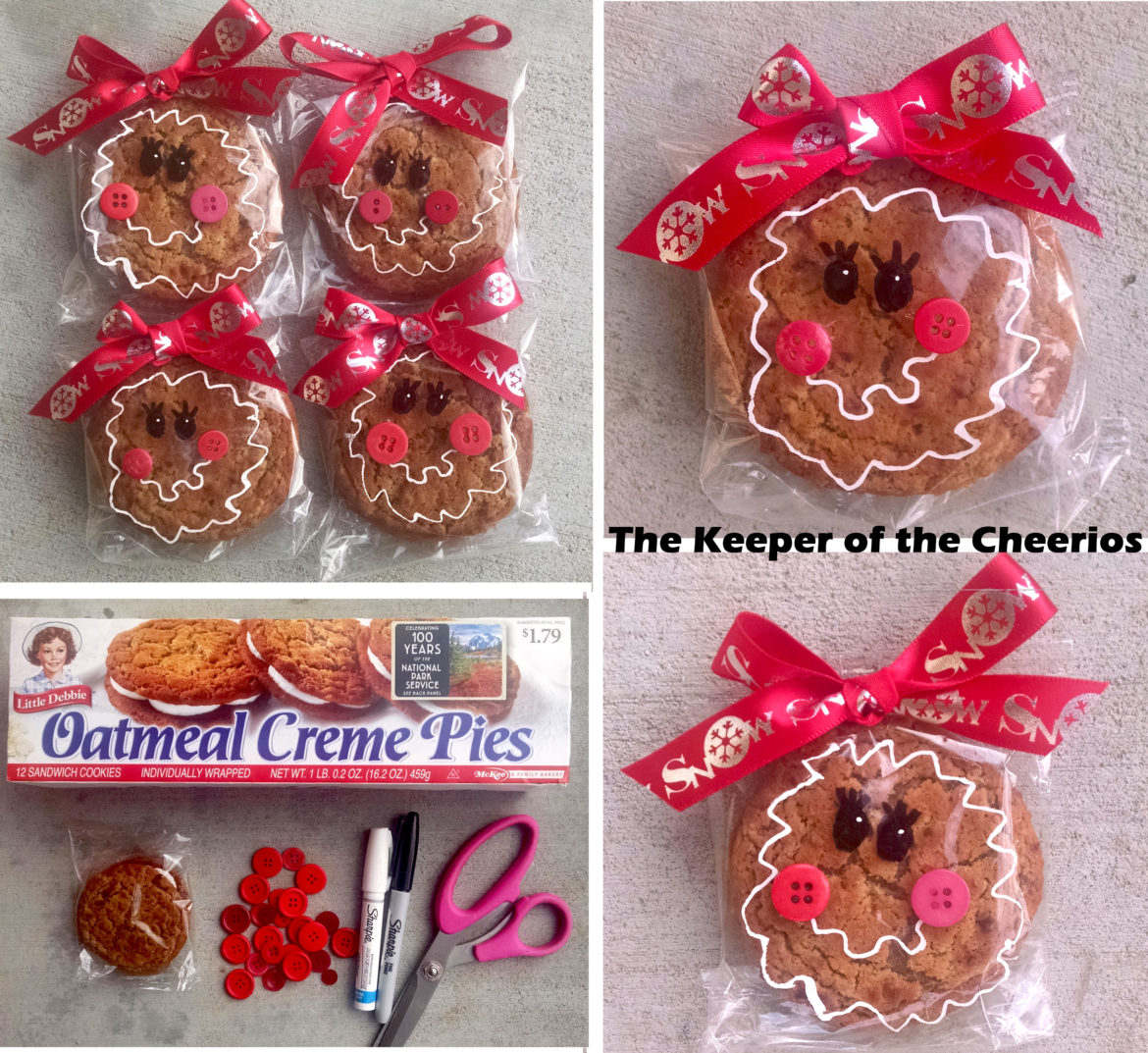 Easy Christmas Cookie Gifts – Edible Crafts