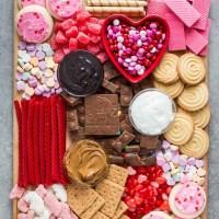 Valentine's Day Grazing Board Ideas