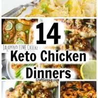 14 Keto Chicken Dinners For Weeknights
