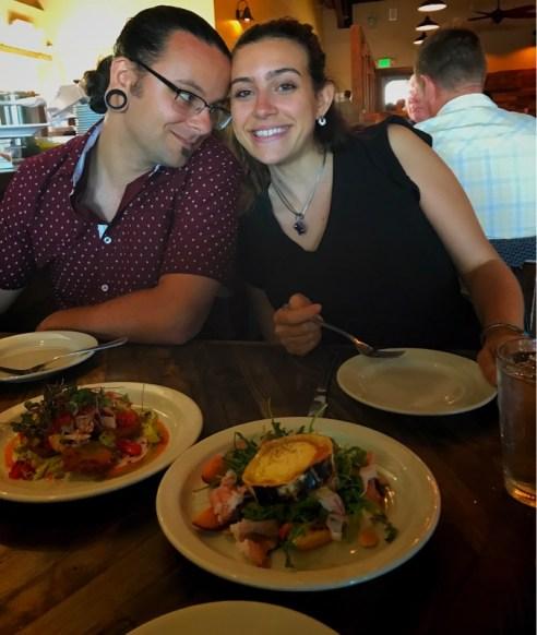 Kori and I at ember
