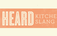 Crazy Kitchen Slang That You Shouldn't Miss