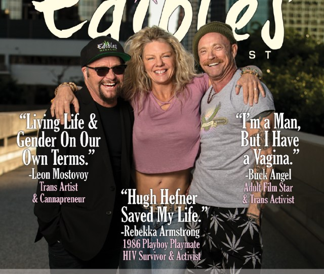 Pride Wellness And Cannabis Buck Angel Rebekka Armstrong Leon Mostovoy