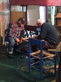 Chair Caning Demonstrtion