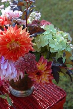 Dahlias in Bouquets