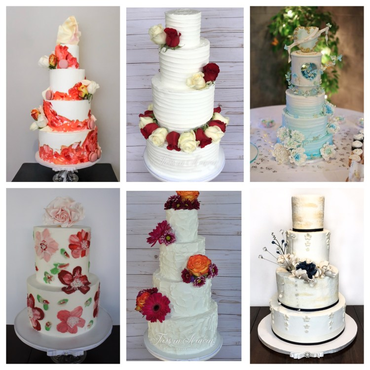 Weddding cake gallery