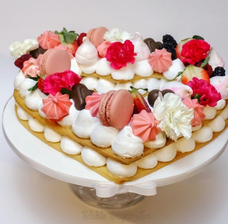 Cream Tart Pâté Sablée