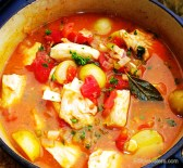 Fish Stew with Sherry & Baby Potatoes.