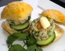 Tuna-Wasabi Sliders.