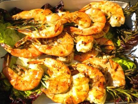 Rosemary Grilled Shrimp