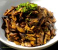 Braised Wild Mushrooms with Mint & Garlic