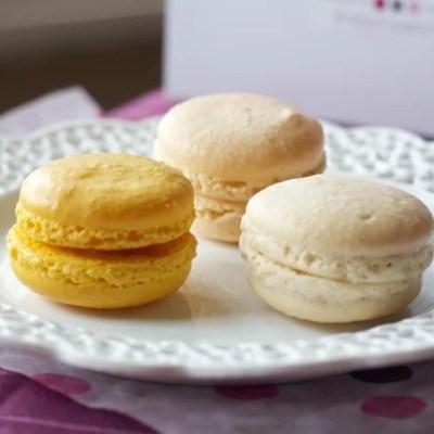 The best method for macarons bursting with lemon flavor