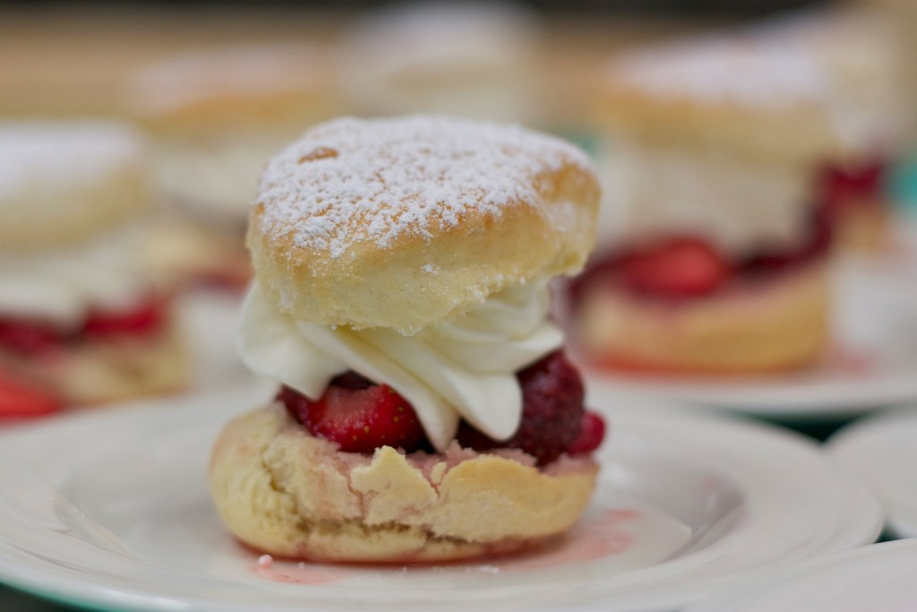 strawberry shortcake from the Culinary Institute