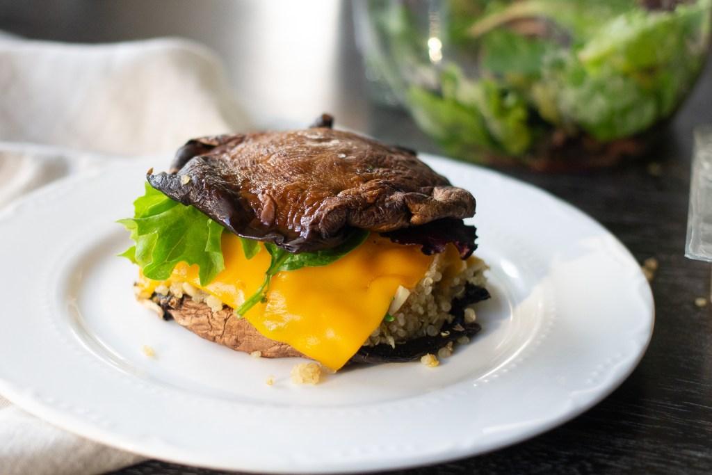 portobello mushroom recipe from Edible Times