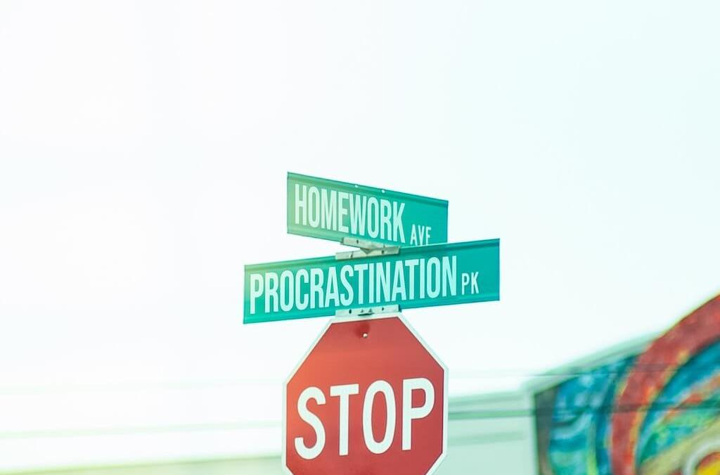 Is 'tomorrow' your busiest day of the week? – How to stop procrastinating?