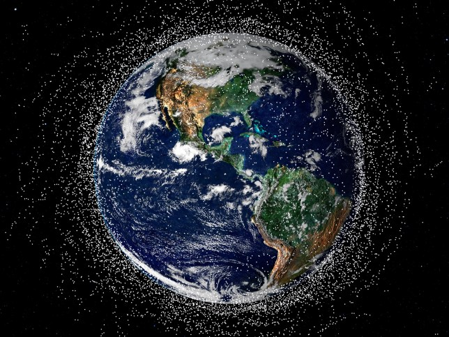 Elon Musk's Starlink satellites are polluting the night sky. He is planning to launch 42 000 satellites.
