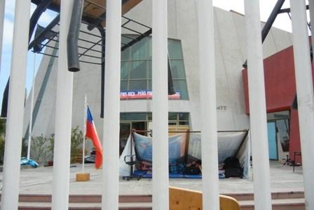 En toma pacífica se encuentran estudiantes de la UTA, Iquique. Piden rebaja en los aranceles