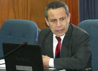 Ex fiscal Peña, en su calidad de asesor de seguridad realiza supervisión en Iquique