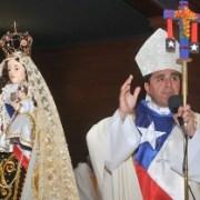Nuncio Ivo Scapolo se reunió con obispo de Iquique en Azapa