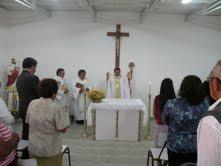 Obispo de Iquique inaugura nueva capilla en Oásis de Pica