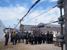 Estudiantes de electricidad acceden a patio de entrenamiento de ELIQSA