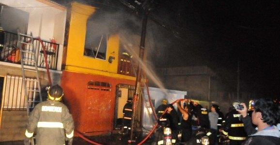 Seis casas destruidas por incendio en Población OH'iggins