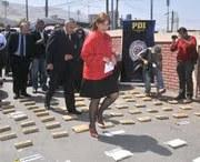 106 kilos de drogas decomisa la PDI y detiene a 3 chilenos y 3 bolivianos