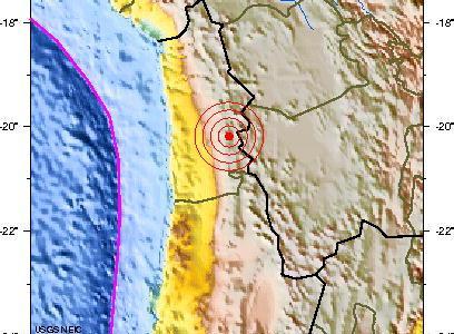 En menos de 12 horas, otro sismo en Iquique, de 5.3 grados de magnitud