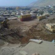 Graves daños por  aluvión en sector norte de Iquique: 25 familias damnificadas
