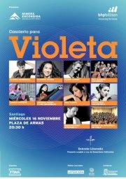 """Iquiqueños tuvieron el privilegio de disfrutar del """"Concierto para Violeta"""""""