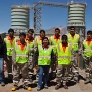 Estudiantes de Liceo Luis Cruz Martínez de Iquique, visitan minera Collahuasi