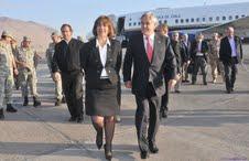 Piñera ya se encuentra en Iquique. Presenciará ejercicios castrenses