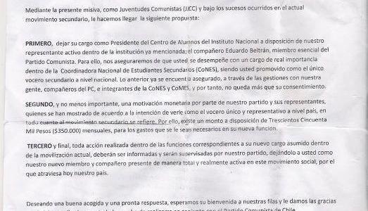 Asesor de Comunicaciones del Gobierno Hace Ridículo Mundial al Difundir Carta Apócrifa contra el Partido Comunista
