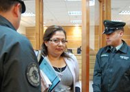Imputado se dañó los ojos horas antes del juicio oral