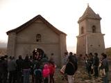 Bendicen iglesia de Cultane, dañada en terremoto del 2005, en celebración de la Fiesta de la Candelaria