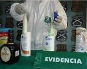 OS-7  detecta 8 kilos de cocaína líquida en bus proveniente de Bolivia