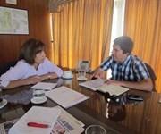 Intendenta de Tarapacá y alcalde de Huara coordinan ayuda a poblados de esa comuna