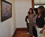 Pintores realistas exponen sus obras en sala de arte Collahuasi