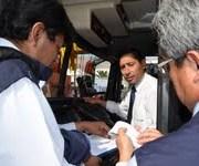 Intensifican fiscalizaciones a buses interurbanos en este largo fin de semana