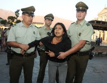 Incidentes, detenidos y exceso de vigilancia en visita presidencial