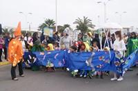 Exitoso desfile de comparsas por el Medio Ambiente en Alto Hospicio