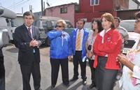 Titular de la SUBDERE visitó obras que se ejecutan en Iquique, La Tirana y Pozo Almonte