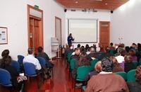 Marcelo Lagos dicto conferencia sobre terremotos y tsunamis en Iquique