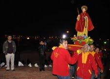 Inauguran gruta  en honor a  San Lorenzo en Alto Hospicio
